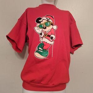 Vintage || Christmas Mickey Mouse Sweatshirt